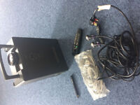 Hitachi Multimedia LCD Projector with remote, cables and bag - model CP-SE30E