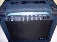 ELECTRIC GUITAR ROCKWOOD MODEL HR20R 20 WATT PRACTICE AMPLIFIER REVERB - EXCELLENT WORKING CONDITION