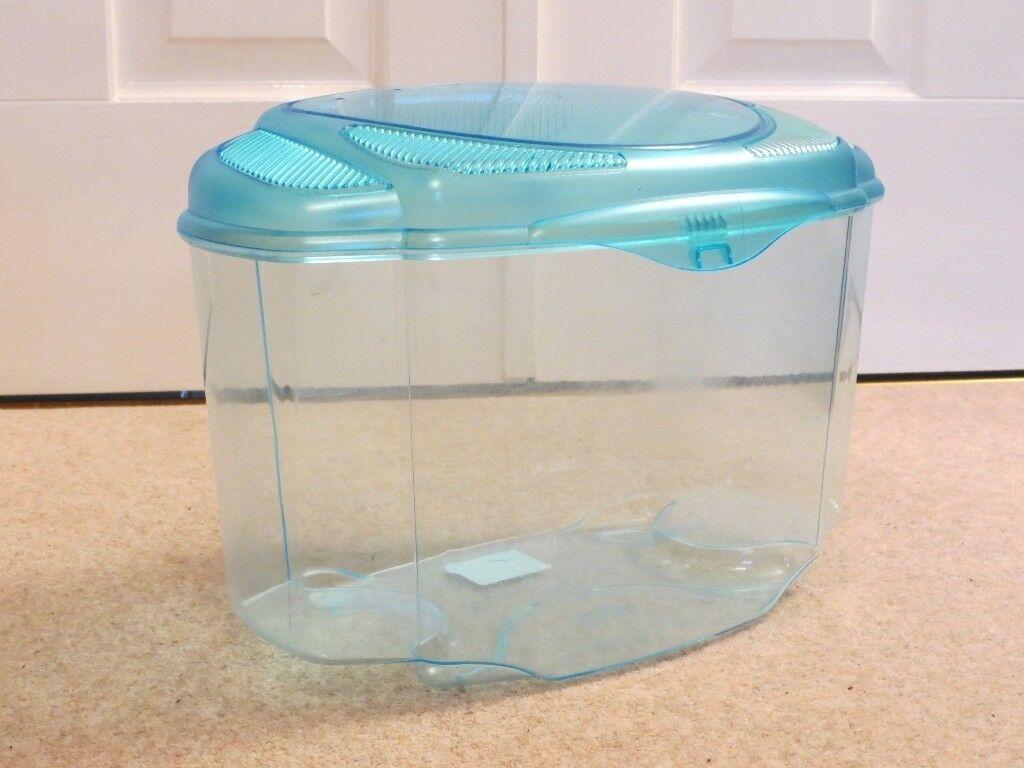 68904242848 Living World Small Fish Tank (or terrarium, pet carrier or small animal  nursery)