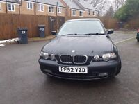 BMW 316 1.8 Ti compact. Timing belt and clutch changed. possible swap 4 saab or other.