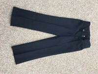 Girls Brand New Navy School Trousers Age 6-7