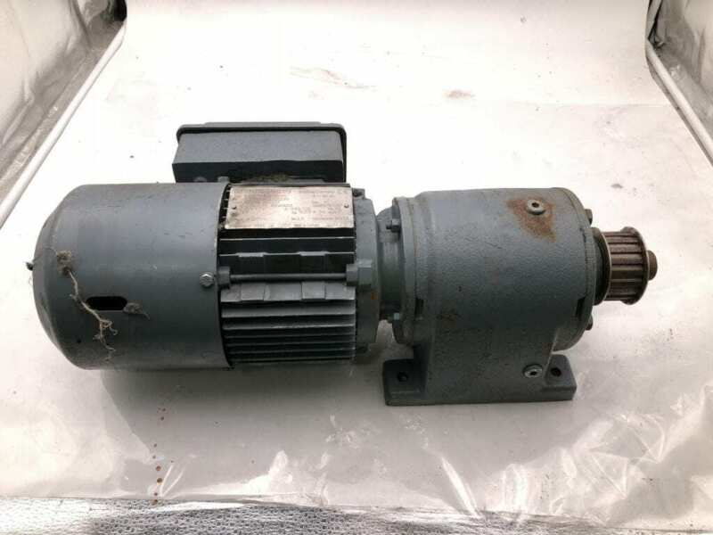 Sew-Eurodrive R40DT71D8/2BMG 0.06/0.25kW Electric Motor w/ Speed Reducer 3PH