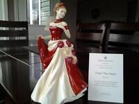 """Royal Doulton Figurine Pretty Ladies """"From The Heart"""""""