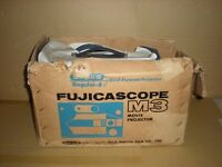 Fujicascope M3 Dual Purpose 8mm Movie Projector