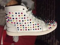 Chritian Louboutin Red Sole Trainers