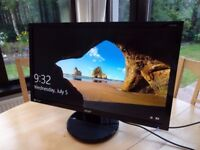 """Acer K272HL 27 """" inch LED monitor perfect condition , warranty ( still have some foil )"""