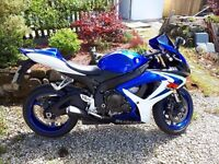 Suzuki GSXR 600 K6 2006 Low Mileage