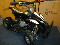 kids quad 50cc quad new ex demo