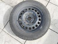 195/60 R15 Continental Tyre & Wheel