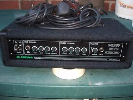 mc gregor bg 250 amplifier