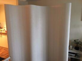 Room divider, screen, white