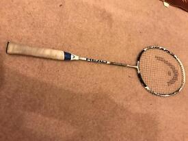 Head badminton racket