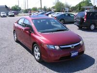2007 Honda Civic Sedan EX 5sp