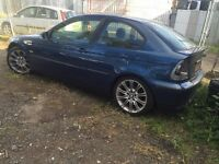 BMW blue compact breaking for parts / spares