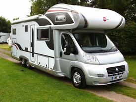 LATE 2007 FIAT BURSTNER ARGOS 747-2, ONE OWNER, 6,000 MILES FROM NEW, 7 BERTH, EXCEPTIONAL CONDITION