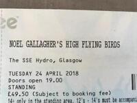 Noel gallagher's high flying birds standing x2
