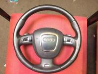 Audi A4 sline steering wheel auto airbag fits A6 a3 vw caddy