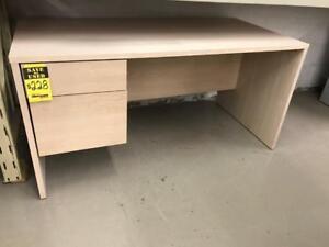 USED Office Furniture Single Pedestal Desk