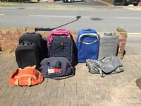 Selection of cases & bags