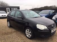 VW POLO 1.2 MATCH 5DR 2008 IDEAL FIRST CAR * CHEAP INSURANCE * HPI CLEAR