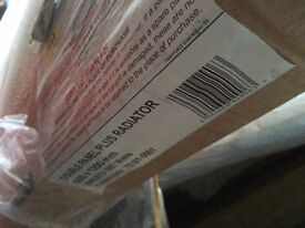 New packed central heating radiator 600 x 1200