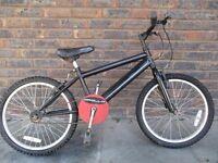 Boys BMX style bike