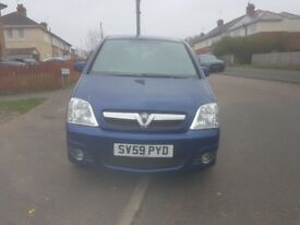 Hi Im salling my vauxhall meriva 1.4 petrol only £1000 open to all offers