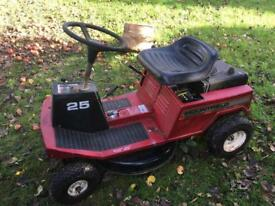 Mountfield 25 7 horsepower ride on lawn mower spares or repairs