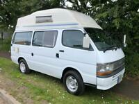 Toyota Hiace four-wheel drive campervan