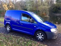 VW CADDY 2009 SPECIAL EDITION OVER £4000 OF FACTORY EXTRAS LOW MILES FSH