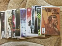 WOLVERINE Weapon X complete series 2009 #1-16
