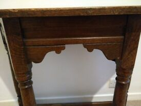Antique table/console