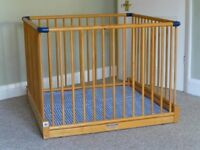 Playpen good condition few marks from use