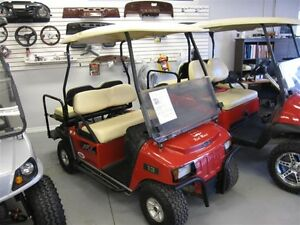 2012 Club Car XRT Golf Cart 4 seats & Lifted