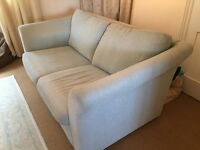 Lovely condition Sofa Bed - 4.5 years old Receipt shows GBP 950 paid. Duck Egg Blue