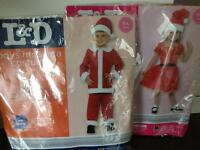 Mr and Mrs Santa Costume