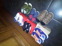 Various footwear
