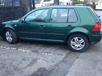 VW Golf, 2000 reg