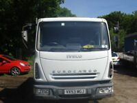 IVECO EUROCARGO 2003 RECOVERY