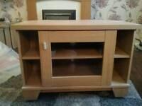 Oak Effect Caxton Corner TV Cabinet