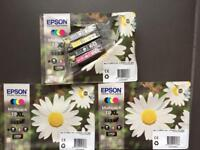 Epson XP30/ 302/ 405 XL Capacity Ink Cartridges - Black/ Cyan/ Magenta/ Yellow (3 packs of 4)