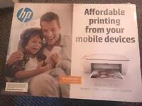Hp wireless printer + spare cartridges