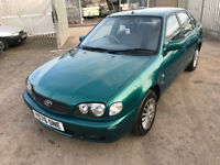 2001 TOYOTA COROLLA 1.4 PETROL MOT APRIL 2018 CHEAP RUNABOUT PX WELCOME MIN £95