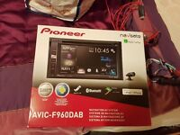 Pioneer AVIC F960DAB Car Stereo with Sat Nav