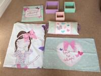 Girls Room Set 'Love to shop'