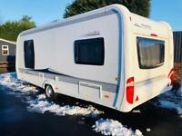 Hobby caravan 560 uff excellent (2013) like tabbert/fendt