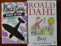 ***Children's books – Boy and Over To You by Roald Dahl ***