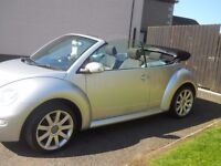 diesel vw beetle convertible with 18 in alloys