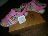 Brand new size 9 girls UGG sandals