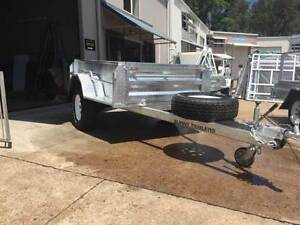 7 X 4 HOT /DIPPED OFF ROAD TRAILER RATED TO 1400KG 500 HIGH SIDES Maroochydore Maroochydore Area Preview
